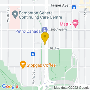 Map to Ninety Nine Ten - 9910 provided by Google