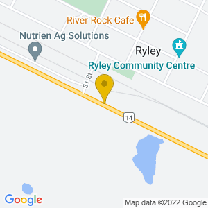 Map to Farmageddon Festival Grounds provided by Google