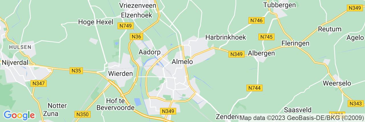 Schiphol Taxi A1 Almelo
