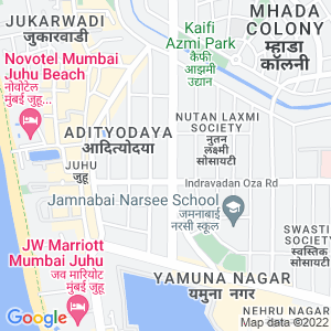 Google Map of Ambika, Plot no 54, Jai Hind CHS, 10th Road, J.V.P.D Scheme,Vile Parle West, Mumbai