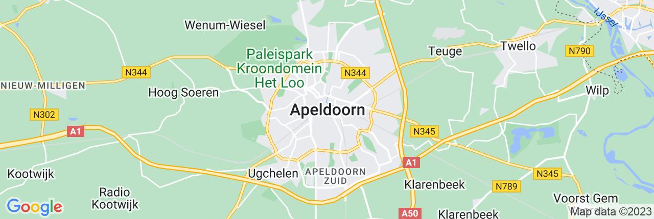 Schiphol Taxi A1 Apeldoorn