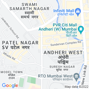 Google Map of Aston Building, 2nd Floor, Near Shastri Nagar, Andheri (W), Mumbai