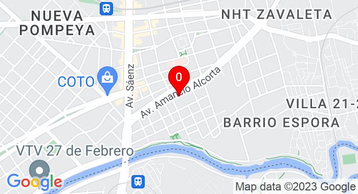 Google Map of Av. Amancio Alcorta 3780, Buenos Aires, Autonomous City of Buenos Aires