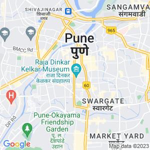 Google Map of BILWANIDHI 1394 SHUKRUWAR PETH BAJIRAO RD ABOVE GHARONDA FURNITURE