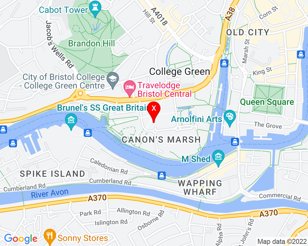 Google Map of BS1 5LW