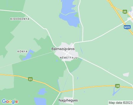 Riasztórendszer Balmazújváros