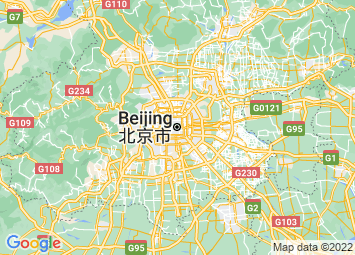 Map of Beijing+China