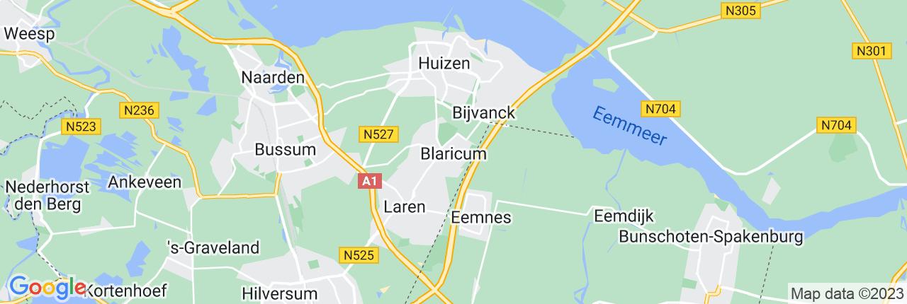 Schiphol Taxi A1 Blaricum