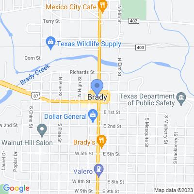 Brady, TX 76825, USA