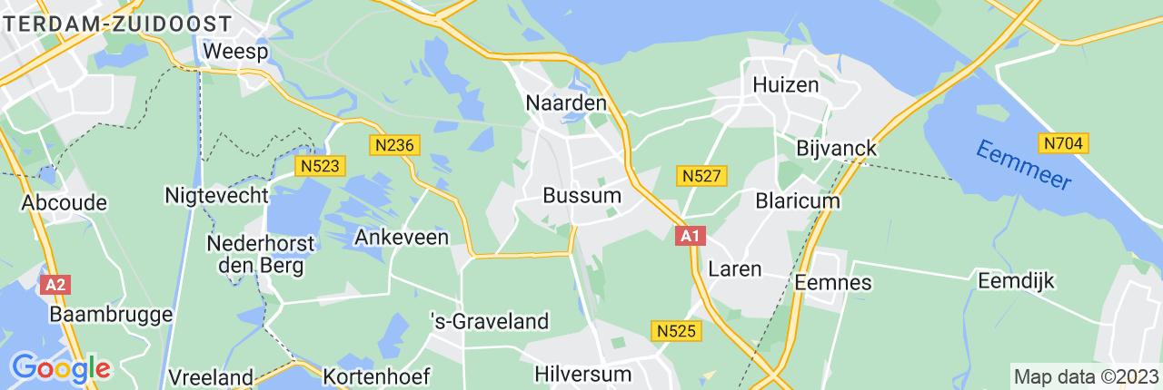 Schiphol Taxi A1 Bussum