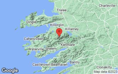 Standort des Carrauntoohill in Irland