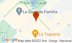 Google Map of Carrer de la Marina, 251
