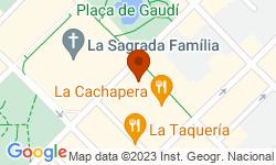 Google Map of Carrer de la Marina, 251