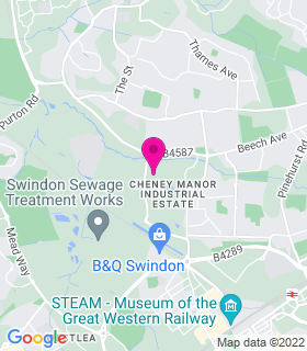 Google Map of , Cheney Manor, SN2 2QJ