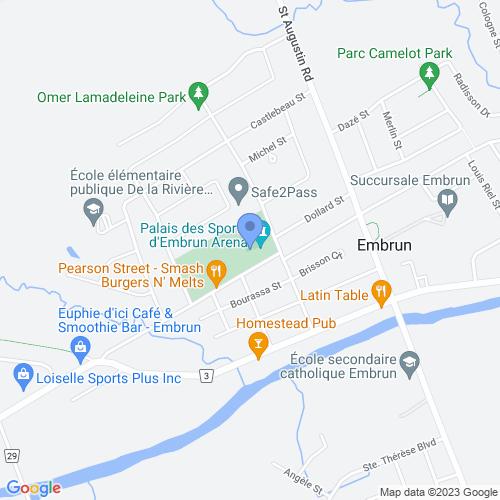 Embrun Community Centre, 8 Blais St, Embrun, ON K0A 1W0, Canada
