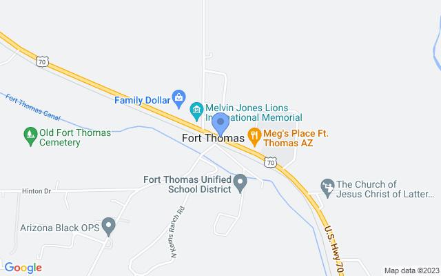 Fort Thomas, AZ 85536, USA