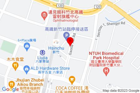 Google Map of GAOTIE 7th Rd, Zhubei City, Hsinchu County 302, Taiwan (R.O.C)