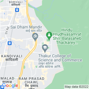 Google Map of Gokul Garden , Thakur Complex , Kandivali East