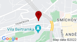 Google Map of Grafická 854/15, Praha