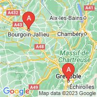 Carte serrurier Isère, Grenoble, Bourgoin