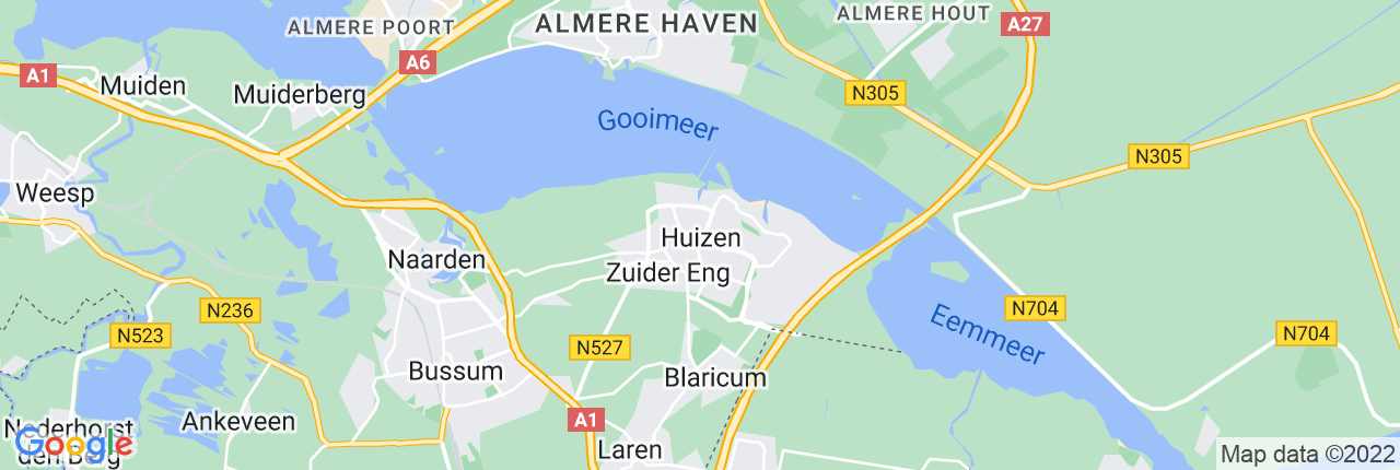 Schiphol Taxi A1 Huizen