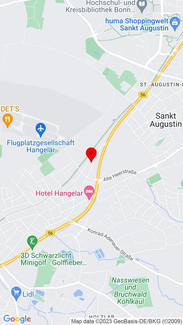 Google Map of Kölnstr. 32, 53757 Sankt Augustin, Deutschland