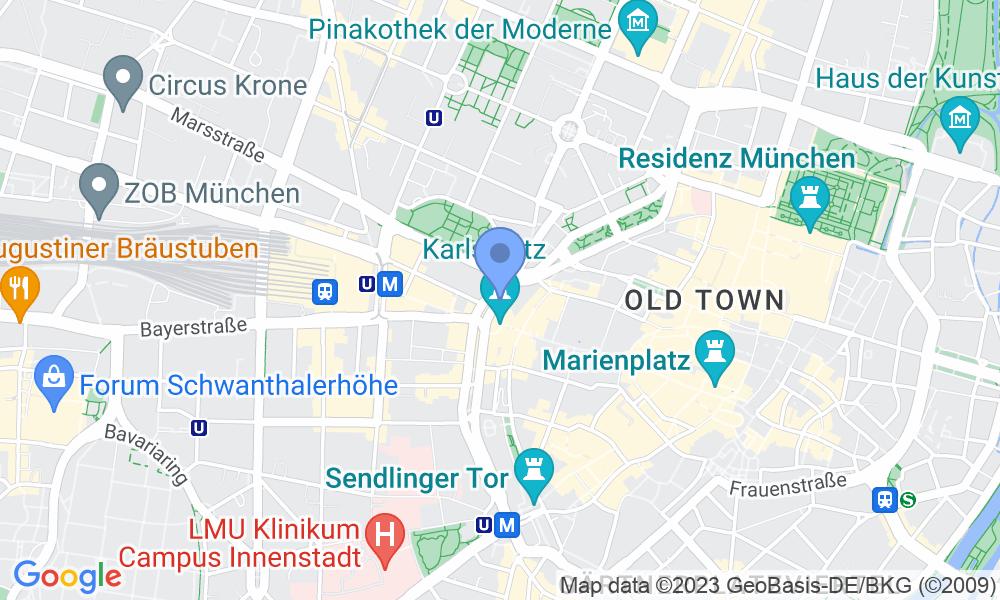Location of the photo: Street Band at Karlsplatz