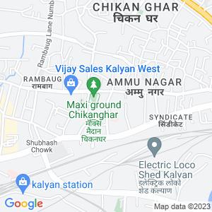 Google Map of Karnik Road, Kalyan