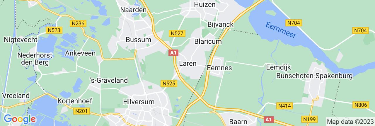 Schiphol Taxi A1 Laren
