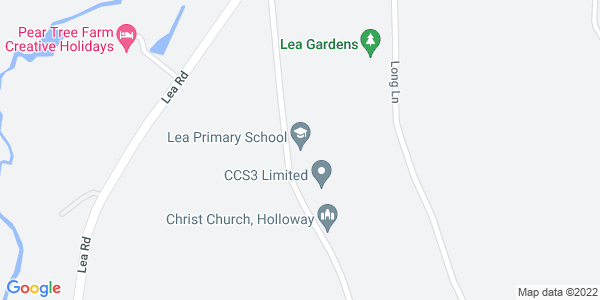 Static map of Lea Primary School Church Street Lea MATLOCK Derbyshire DE4 5JP, provided by Google