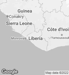 Google Map of Liberia