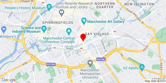 Google Map of M1 6EG