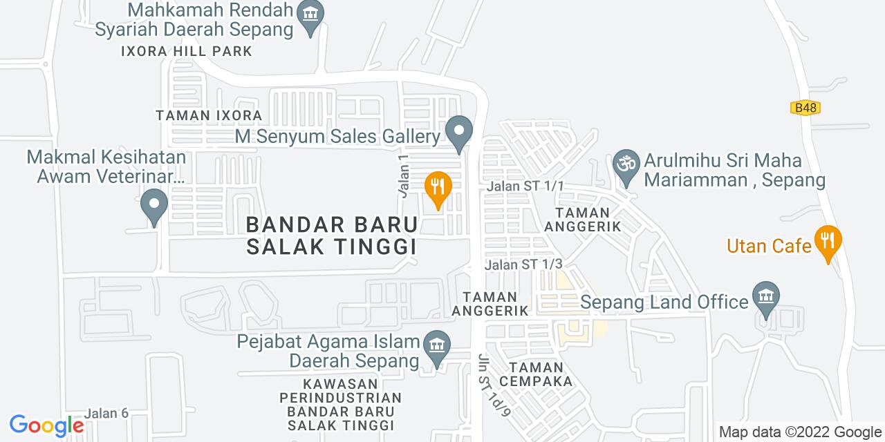 Salak City Development Location