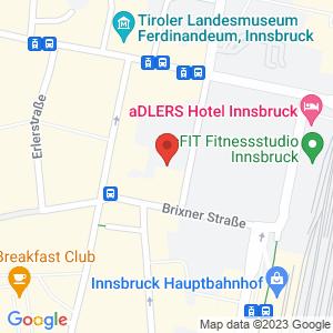Google Map of Meinhardsstraße 14 6020 Innsbruck