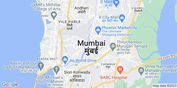 Google Map of Mumbai