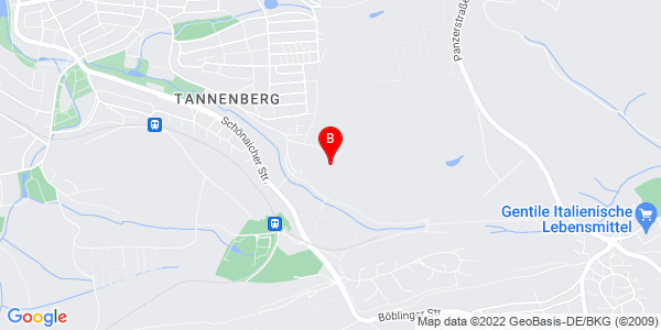 Google Map of Murkenbachweg 120, 71032 Böblingen, Germany