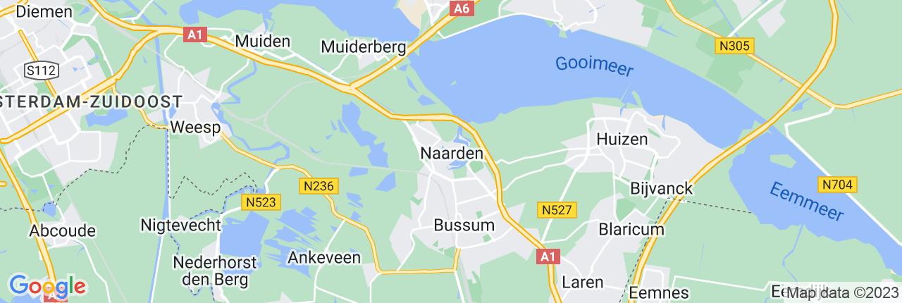 Schiphol Taxi A1 Naarden