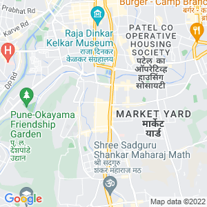 Google Map of Opp.BSNL Exchange, Shahu College Road, Off Pune-Satara Road, Behind Panchami Hotel,Pune 411009