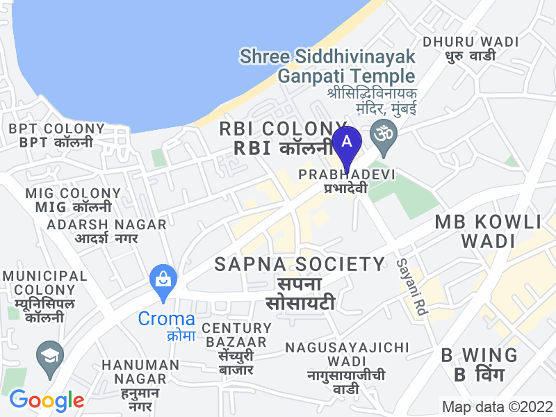 Google Map of Prabhadevi, Ambrosia Company