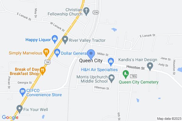 Queen City, TX, USA