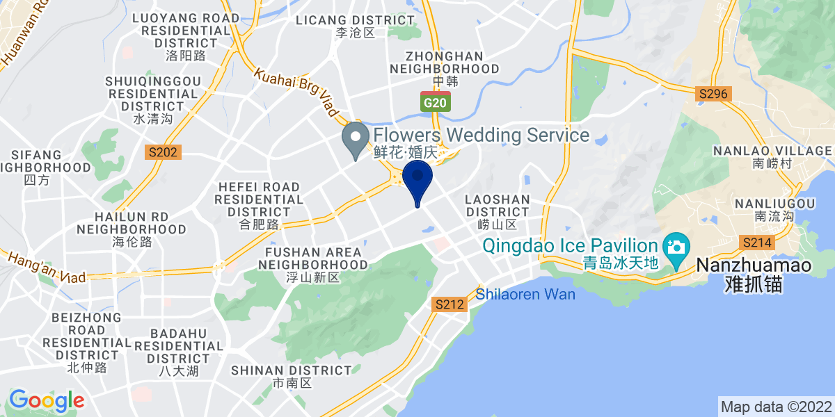 Google Map of Quingdao, Thumb Plaza
