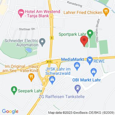 Sporthalle+ (Parkplatz) - Google Map Karte