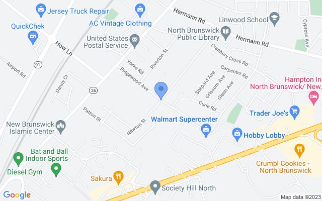 Ridgewood Ave, North Brunswick Township, NJ 08902, USA
