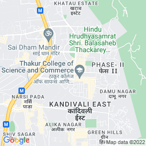 Google Map of Row House No.3, Aangan, Opp Thakur College, Thakur Village, Kandivali (E) 400101