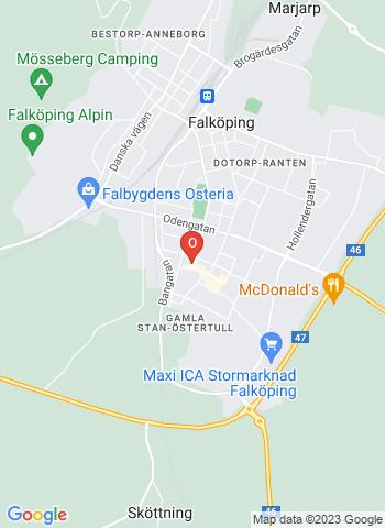 Google Map of S:T OLOFGATAN 3, Falköping
