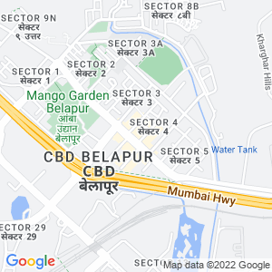 Google Map of Sahyog apartment, Plot No .F Type, Sector -9, Nerul, Navi Mumbai