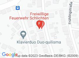 Google Map of Schlichten Rathausstraße 16