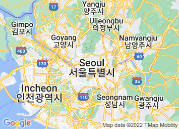 Map of Seoul+South Korea