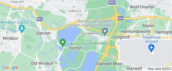 Location map for carpet fitter in Slough, Berkshire, SL3