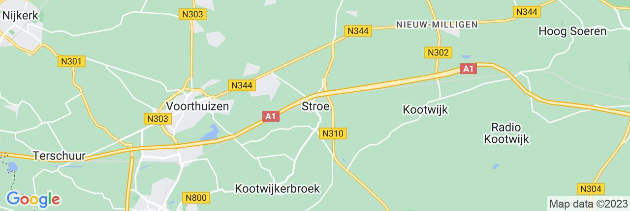 Schiphol Taxi A1 Stroe
